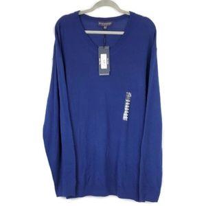 NWT Hart schaffner marx tall merino wool sweater